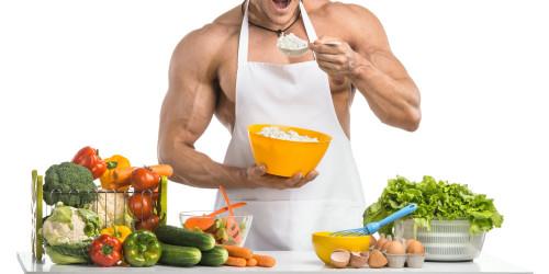 Massephase zum Muskelaufbau Ernährung