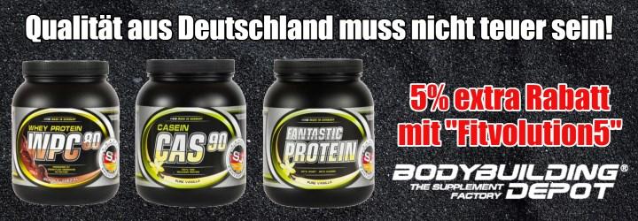 Qualität aus Deutschland Supplement Union Proteine